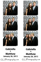 Gabriella & Matthew - Photo Booth