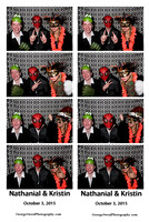 2015-10-3 Nathanial & Kristen Photo Booth