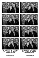 Crystal & Gary Photo Booth