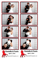 2016-4-2 Danielle's Wedding Photo Booth