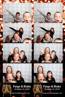 Paige & Blake Photo Booth